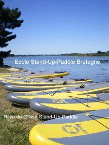 ecole stand up paddle bretagne