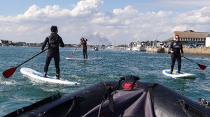 initiations et balades stand up paddle