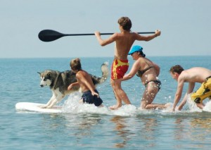 ecole stand up paddle bretagne