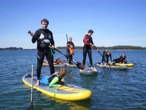 Ecole de Stand-Up-Paddle de Bretagne cours initiation et balade
