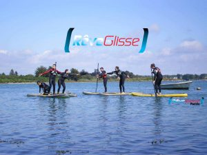 ecole stand up paddle Quiberon