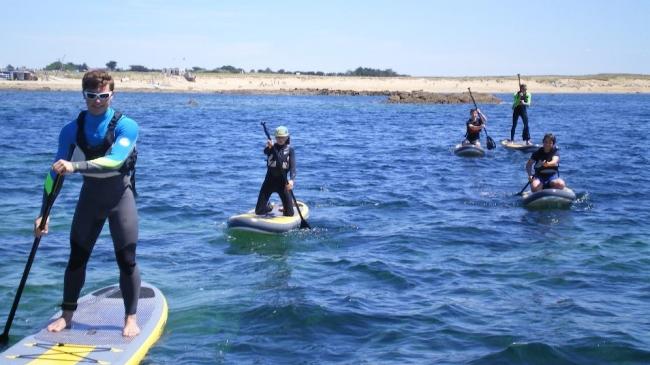 Activité initiation Stand-Up-Paddle très accessible pour tous les niveaux