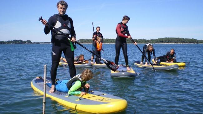 En famille, entres amis, avec les enfants, à l'aventure en Stand-Up-Paddle !